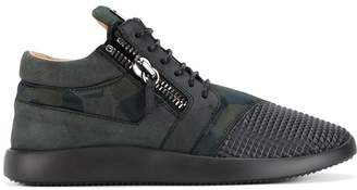 Giuseppe Zanotti Design Runner studs mid-top sneakers
