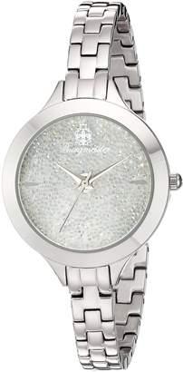 Burgmeister Women's BM536-181 Analog Display Analog Quartz Silver Watch