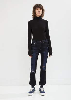 R 13 Velvet Kick Fit Jeans