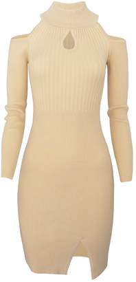 Toms Tom's Ware Women Casual Slim Fit Knit Front Keyhole Sweater Bodycon Dress TWCWD076-US M