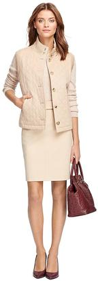 Quilted Camel Hair Vest $498 thestylecure.com