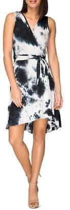 Diane von Furstenberg B Collection by Bobeau Rowan Sleeveless Tie-Dye Dress