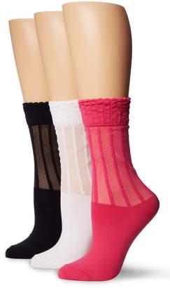 K. Bell Socks Women's Ruffle Texture Crew