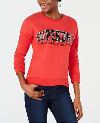 Superdry Logo-Applique Sweatshirt