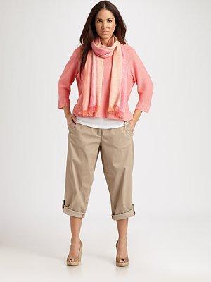 Eileen Fisher Eileen Fisher, Salon Z Boatneck Linen Top