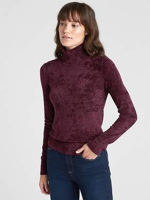 Gap Velour Turtleneck Sweater