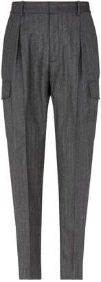 Stella McCartney Dover Herringbone Cargo Trousers