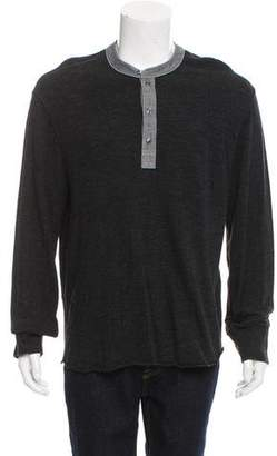 Todd Snyder Long Sleeve Henley T-Shirt