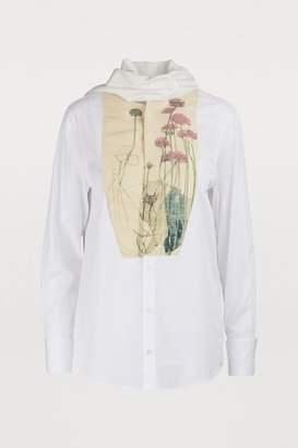 Loewe Pussybow botanical blouse