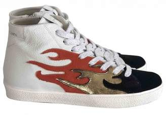 Leather Crown Multicolour Pony-style calfskin Trainers