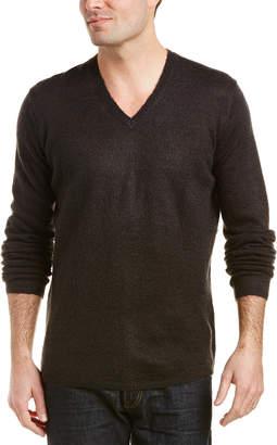 The Kooples Mohair-Blend V-Neck Sweater