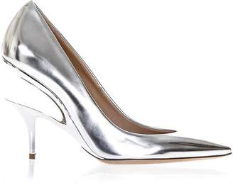 Maison Margiela Mirror Effect Eco Leather Pumps With Cut-out Heel