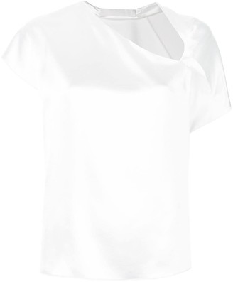 Dion Lee knot detail blouse