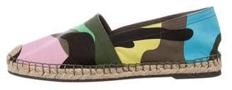 Valentino Psychedelic Camouflage Espadrilles