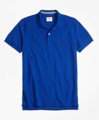 Brooks Brothers Solid Pique Polo Shirt