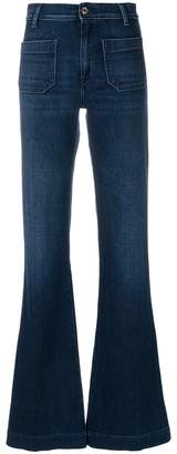 The Seafarer high-waist flared jeans