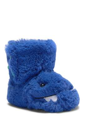 Carter's Calvin Dinosaur Faux Fur Slippers (Toddler & Little Kid)