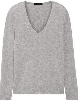Theory Adrianna Cashmere Sweater - Gray