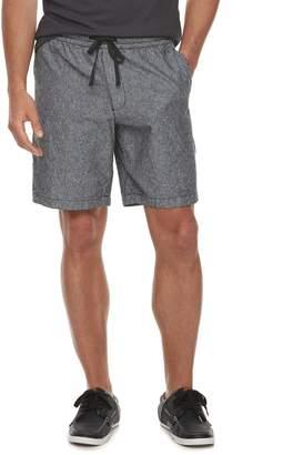 Marc Anthony Men's Slim-Fit Elastic-Waist Linen-Blend Shorts