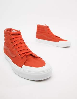 Vans SK8-Hi Reissue 138 sneakers in orange VN0A3TKPU7W1