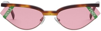 Fendi x Gentle Monster cat-eye sunglasses