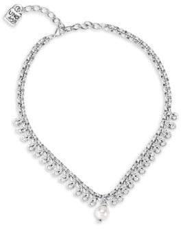 Uno de 50 Azteca Faux Pearl Swarovski Crystal Necklace