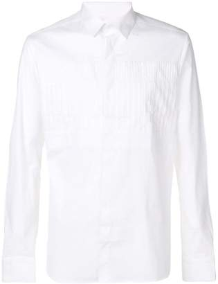 Les Hommes pleated shirt