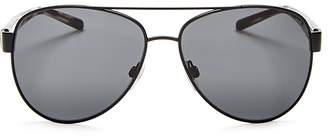 Burberry Men's Sun Brow Bar Aviator Sunglasses, 60mm