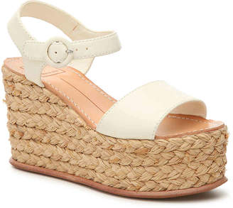 38f5c19a2f Dolce Vita Beige Wedge Women's Sandals - ShopStyle