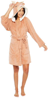 Couture Pj PJ Cuddly Critters Robe with Hood