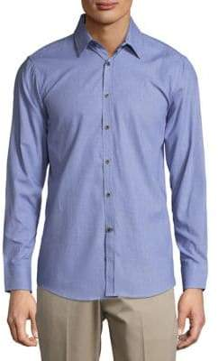 Report Collection Cotton Casual Button-Down Shirt