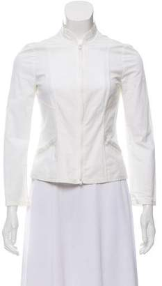 Philosophy di Alberta Ferretti Long Sleeve Zip-Up Jacket