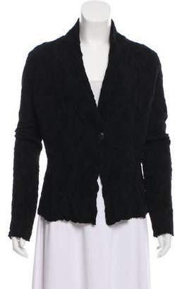 Nina Ricci Textured Button-Up Jacket
