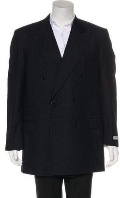Burberry Double-Breasted Wool Blazer w/ Tags