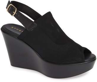 Athena Alexander Breaking Wedge Sandal