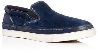 John Varvatos Men's Jet Suede Slip-On Sneakers