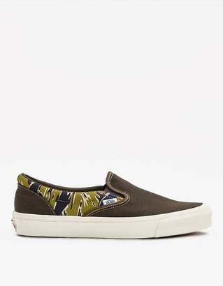 Vans Vault By OG Slip-On LX Sneaker in Mixed Camo