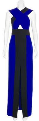 SOLACE London Cutout Evening Dress