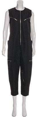 Alexander Wang Textured Zip-Up Jumpsuit