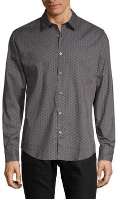 John Varvatos Mayfield Slim-Fit Button-Down Shirt