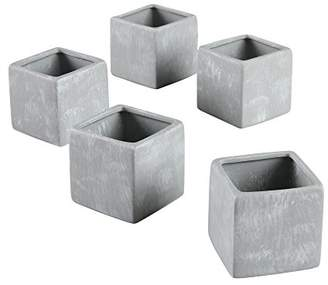Ivy Lane Design Smooth Square Favor Flower Pots