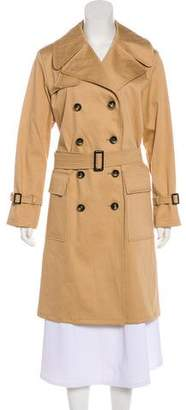 Giorgio Armani Double-Breasted Trench Coat