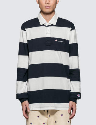 Champion Reverse Weave Stripes Polo Shirt