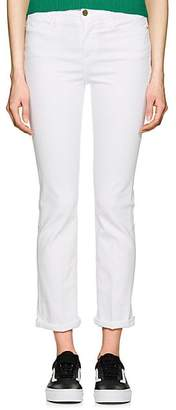 Frame Women's Le High Straight Jeans - White