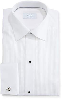 Eton Contemporary-Fit Pleated Bib Formal Shirt