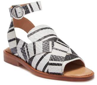 Free People Catherine Leather Loafer Sandal