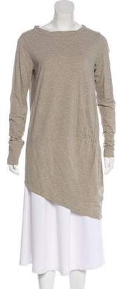 Brunello Cucinelli Asymmetrical Long Sleeve Tunic