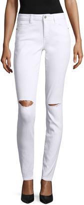 ARIZONA Arizona Slit Knee Skinny Jeans - Juniors $56 thestylecure.com