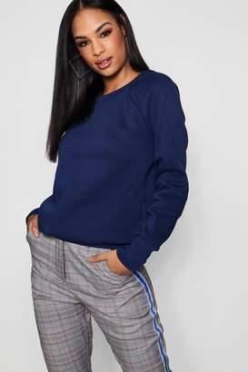 boohoo Hayley Crew Neck Sweatshirt