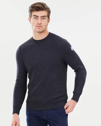 North Sails Round Neck Chunky Fisherman Sweater